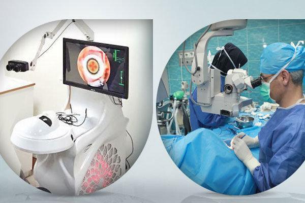 دستگاه شبیه ساز جراحی آب مروارید ساخته شد