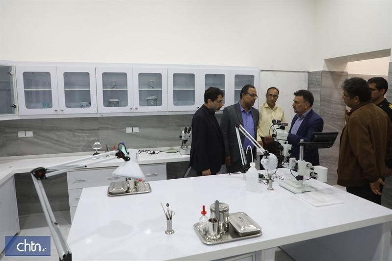 تجهیز آزمایشگاه ویژه مرمت آثار در بوشهر