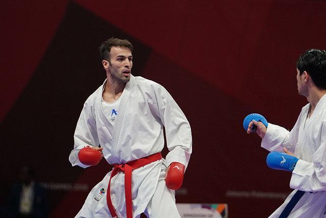 2 مدال طلای بهمن عسگری و حمیده عباسعلی در کاراته وان اتریش