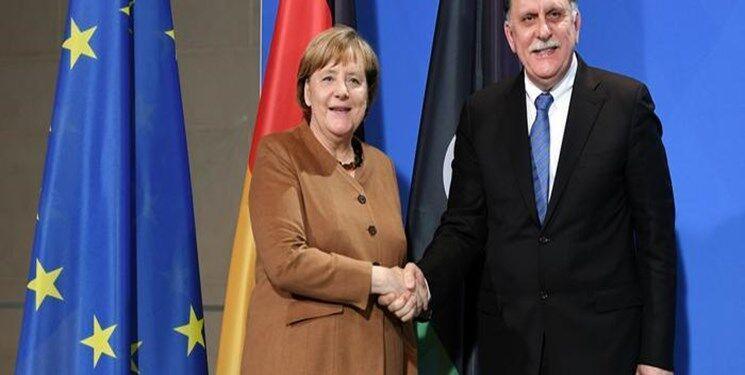 خبرنگاران درخواست آلمان از دولت وفاق ملی لیبی برای توافق آتش بس با حفتر