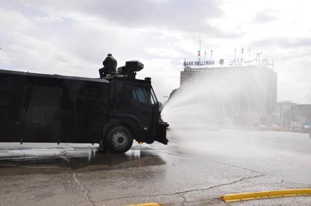 اعلام معابری که 4 فروردین توسط یگان ویژه تهران ضدعفونی می شوند