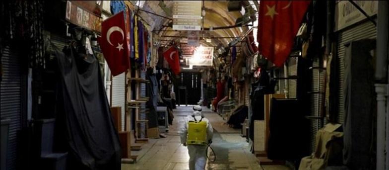 توقف کار مرمت بازار عظیم استانبول