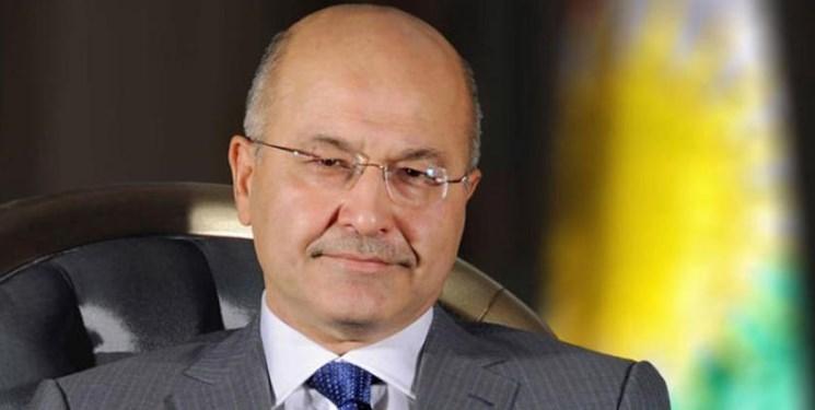 ولی عهد ابوظبی با رئیس جمهور عراق درباره تقویت همکاری ها گفت وگو کرد