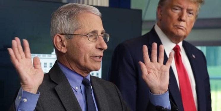دکتر فائوچی از اظهارات انتقادی علیه ترامپ عقب نشینی کرد