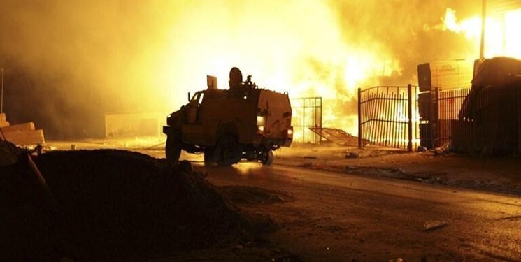 حمله عناصر حفتر به محل استقرار آوارگان در لیبی