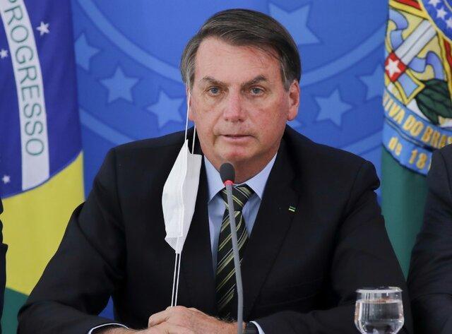 دستور قاضی برزیلی به رئیس جمهور ،ماسک بزن