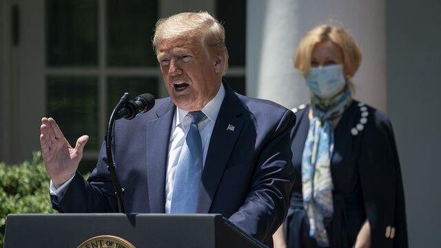 اظهارات دارویی ترامپ بار دیگر جنجال به پا کرد