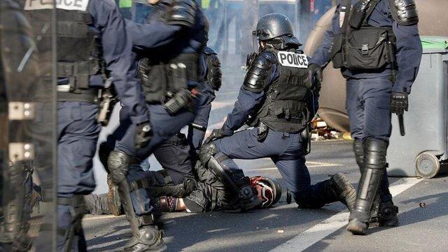 تظاهرات ماموران پلیس، دولت فرانسه را به واکنش واداشت