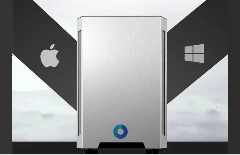کپی مک پرو با سیستم عامل های ویندوز 10
