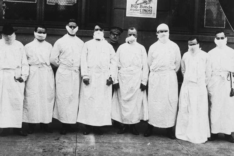 جهان، پس از آنفولانزای اسپانیایی