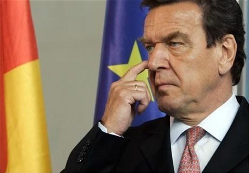 شرودر خواهان تحریم های متقابل اتحادیه اروپا علیه آمریکا شد