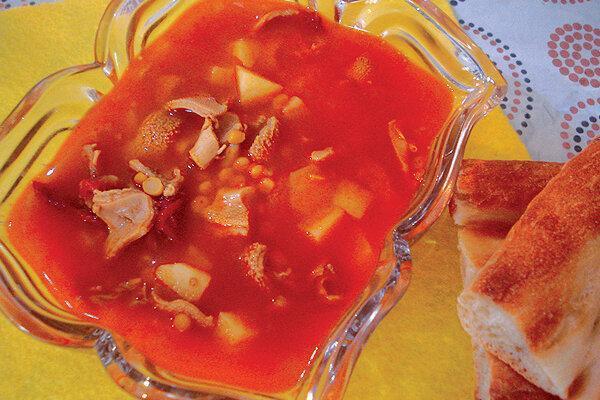طرز تهیه خوراک سیرابی ، غذای پیشنهادی آذربایجانی ها