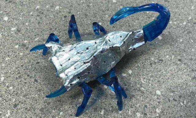 ساخت باتری روبات با الیاف دور ریختنی