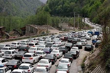محدودیت ترافیکی مشروط در هراز و کندوان
