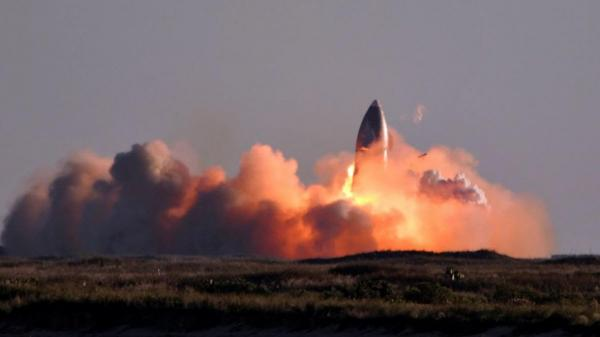 راکت SN 8 اسپیس ایکس، در لحظه فرود، منفجر شد