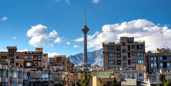 کیفیت هوای تهران قابل قبول است ، تعداد روز های پاک پایتخت