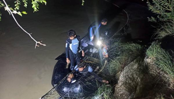 خبرنگاران سد آب کمر تفرش یک قربانی گرفت