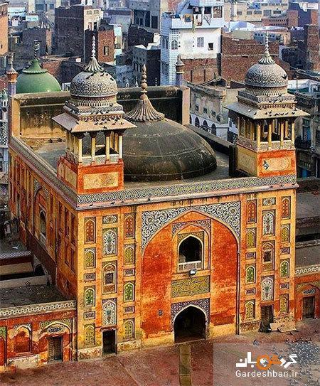 مسجد وزیر خان؛ مسجد تاریخی و زیبای پاکستان، عکس