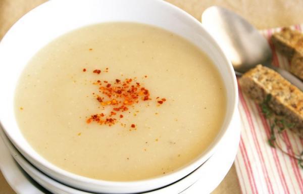 طرز تهیه سوپ شلغم برای نوزاد