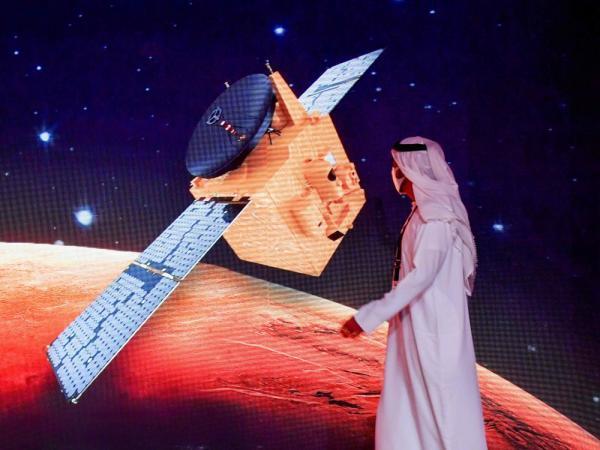 خبرنگاران امارات در آستانه پیروزی در مسابقه فتح مریخ