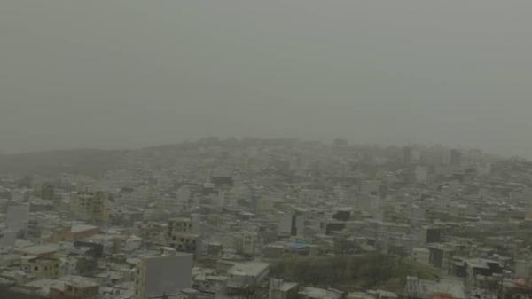 خبرنگاران غلظت گرد و غبار در سردشت به 3 برابر حد استاندارد رسید
