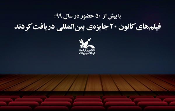 فیلم های کانون 20 جایزه ی بین المللی دریافت کردند