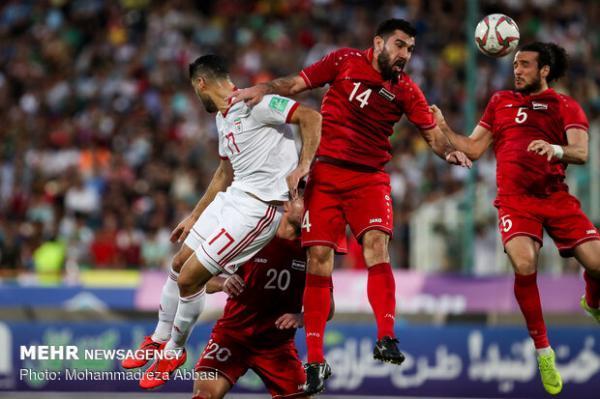 اعلام لیست تیم ملی فوتبال سوریه برای بازی با ایران، خربین غایب است