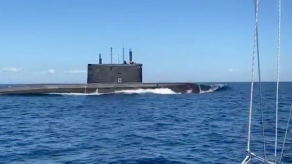 زیردریایی روسیه ناپدید شد