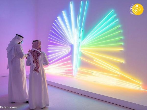 (تصاویر) نمایشگاه نور علی نور در ریاض