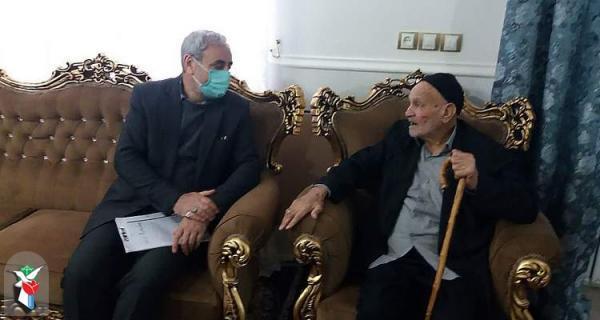 ملاقات با 570 ایثارگر در بوئین زهرا