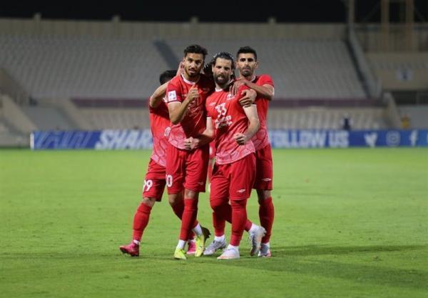 لیگ قهرمانان آسیا، رجحان یک نیمه ای تراکتور مقابل شارجه